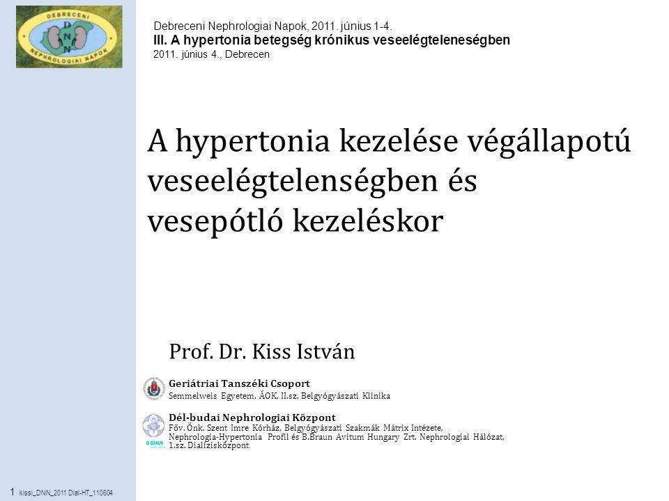 Magas vérnyomás - artériás hipertónia
