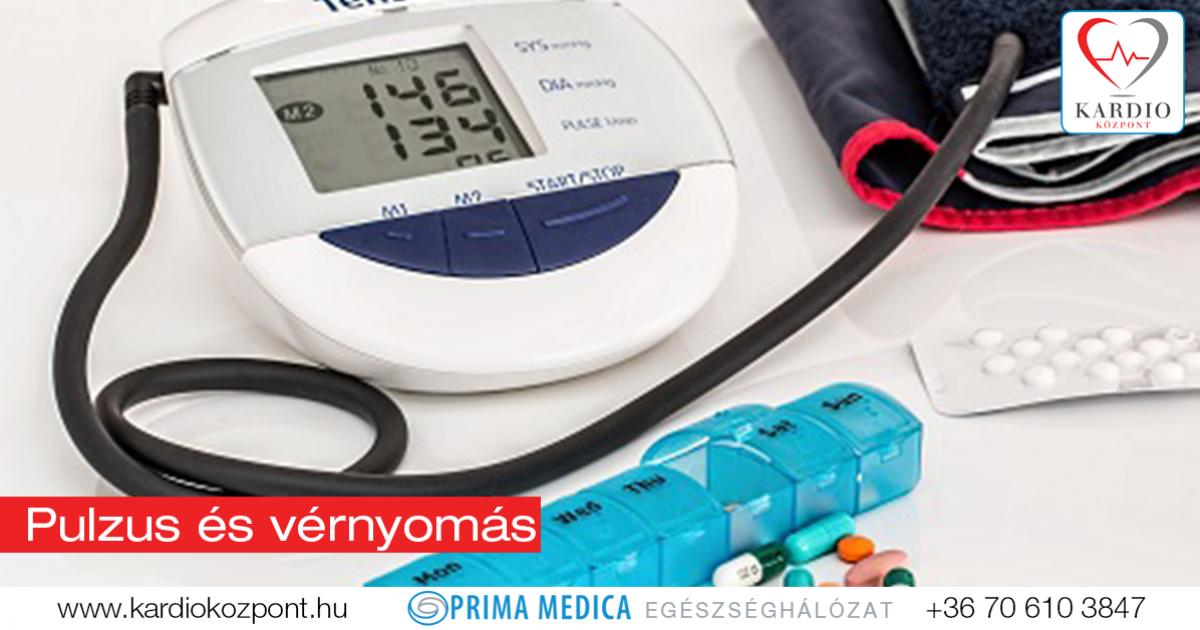 alacsony pulzus magas vérnyomás esetén