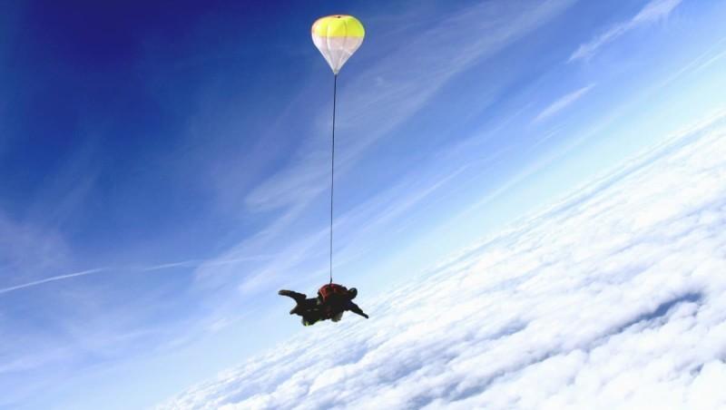 ejtőernyős ugrás hipertónia