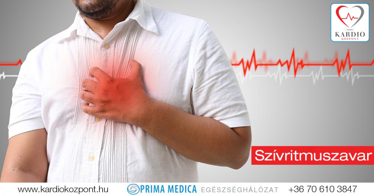 a magas vérnyomás aritmiás tünetei