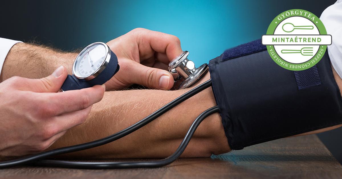 magas vérnyomás van, de a pulzus alacsony