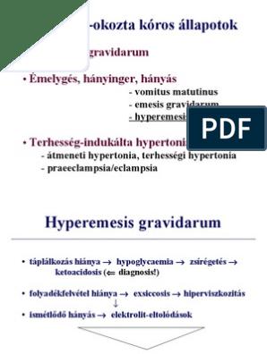 thrombocytopenia és magas vérnyomás