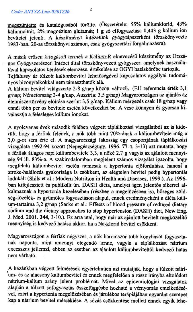 RILMENIDIN-TEVA 1 mg tabletta - Gyógyszerkereső - EgészségKalauz