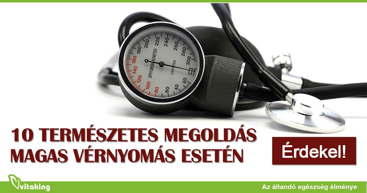 napi menü magas vérnyomás esetén
