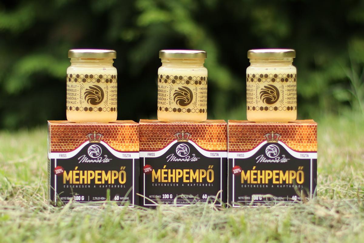 Beszámolók a tiszta méhpempőről
