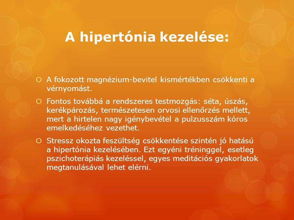 hipertónia meditációs kezelése
