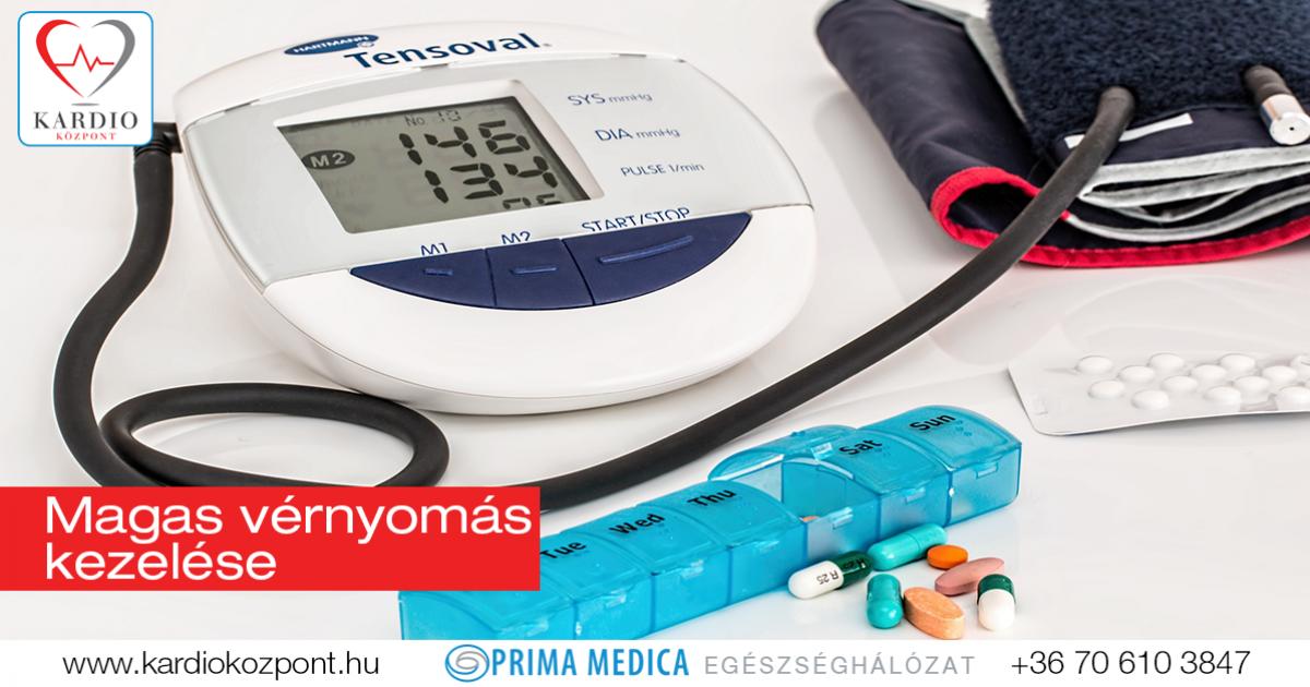 azonnali magas vérnyomás kezelés Dr Bokeria a magas vérnyomásról