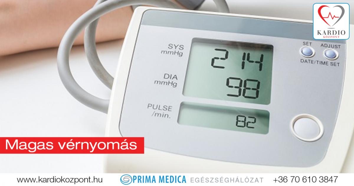 magas vérnyomás, amit tudnia kell