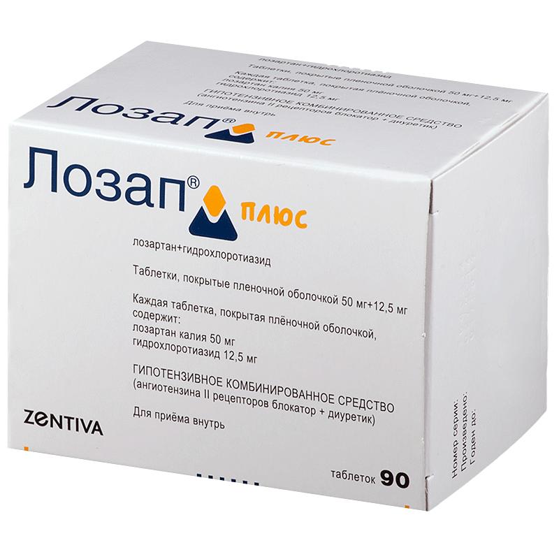 Lozap - a vérnyomás csökkentésére szolgáló gyógyszer