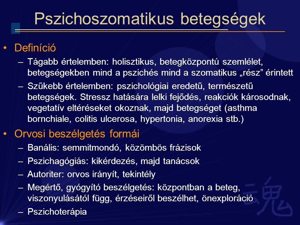 pszichoszomatikus hipertónia kezelése