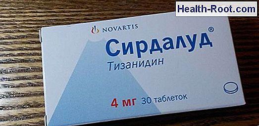 SIRDALUD 4 mg tabletta