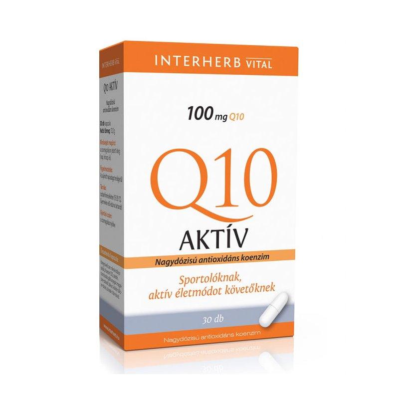 Q10 koenzim - ubikinon - az öregedés lassítója