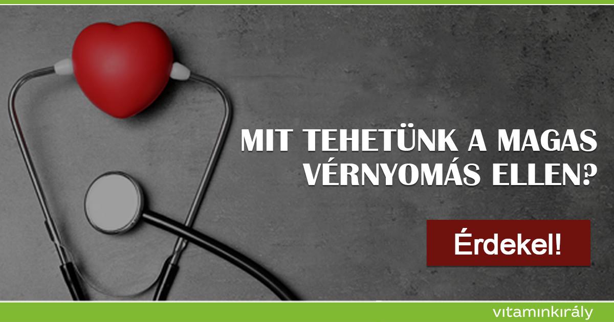 b-vitamin magas vérnyomás esetén mik a hipertónia tünetei és hogyan veszélyes