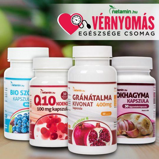 magas vérnyomás kezelése vitaminokkal
